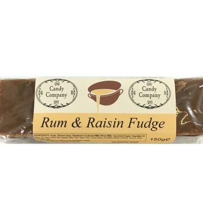 Rum Raisin Fudge Bar