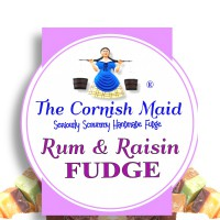 The Cornish Maid Rum & Raisin Fudge FT110