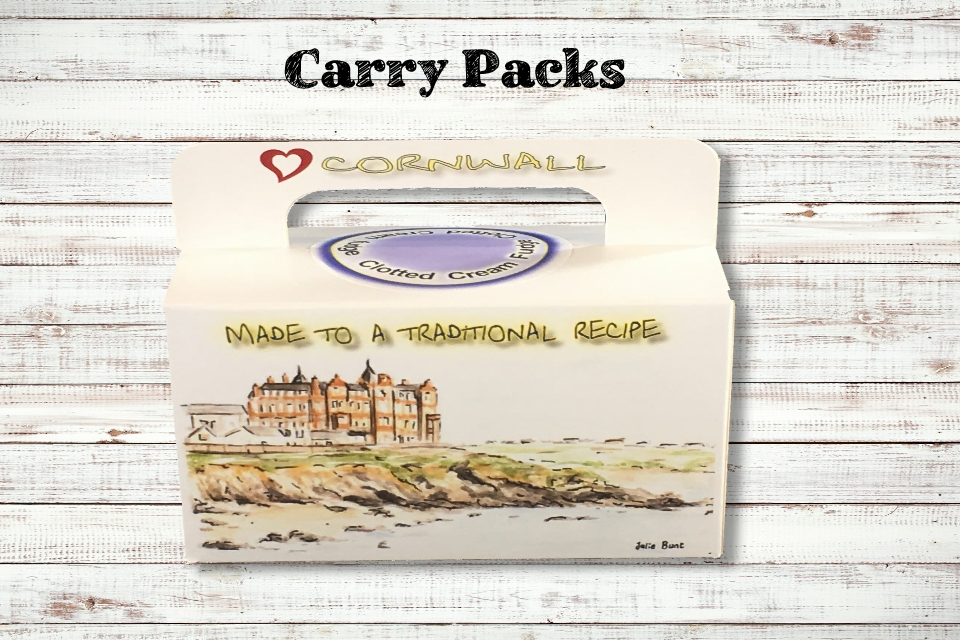 Carry Pack Fudge Box